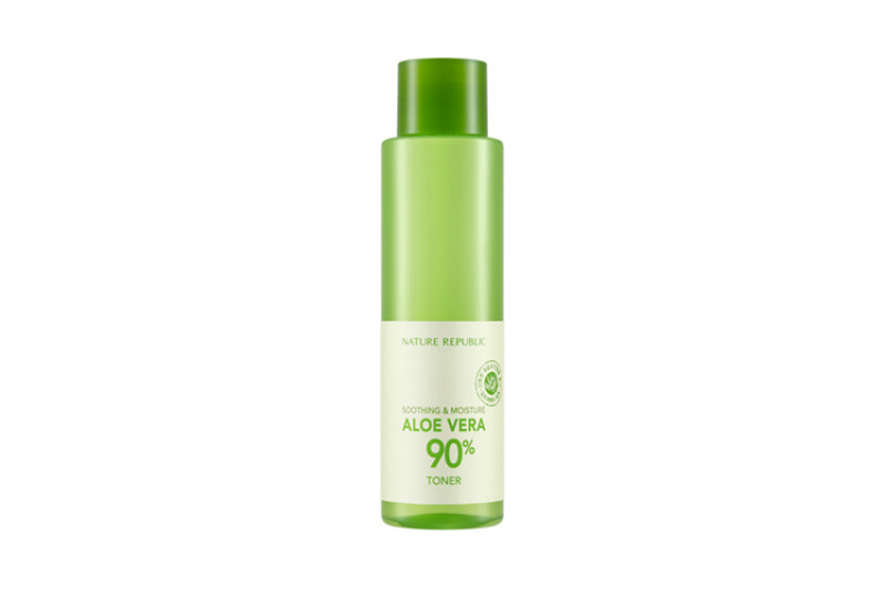 [NATURE REPUBLIC] Soothing & Moisture Aloe Vera 90% Toner - 160ml