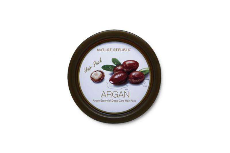 [NATURE REPUBLIC] Argan Essential Deep Care Hair Pack - 200ml