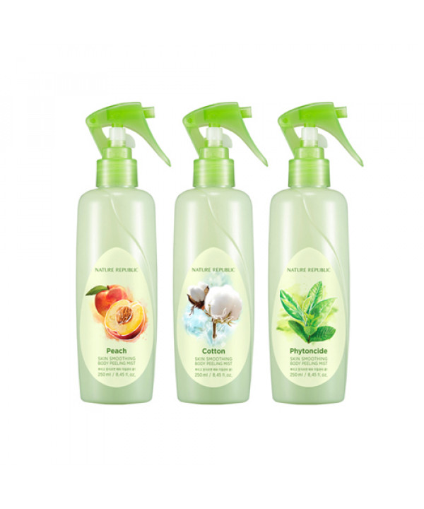 [NATURE REPUBLIC] Skin Smoothing Body Peeling Mist - 250ml