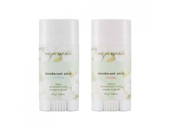 [NATURE REPUBLIC] Fresh Deodorant Stick - 45g