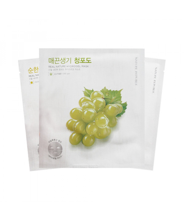 [NATURE REPUBLIC] Real Nature Hydrogel Mask - 1pcs (EXP 2021.01)
