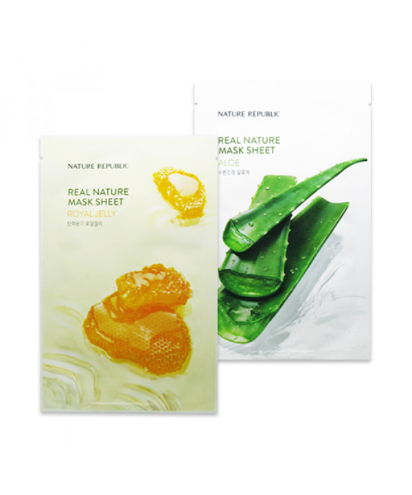 [NATURE REPUBLIC] Real Nature Mask Sheet (New) - 1pcs