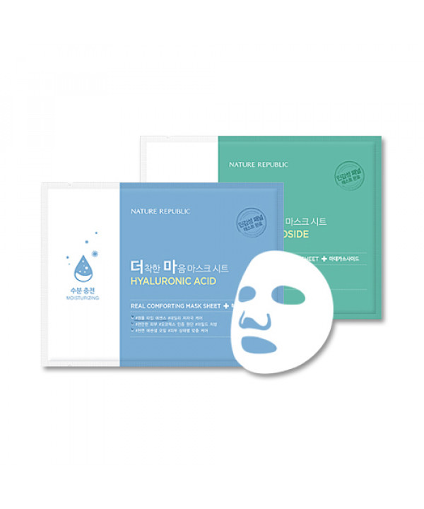 [NATURE REPUBLIC] Real Comforting Mask Sheet - 1pcs
