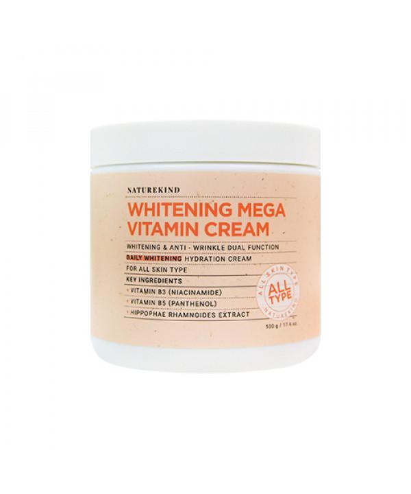 [NATUREKIND] Whitening Mega Vitamin Cream - 500g