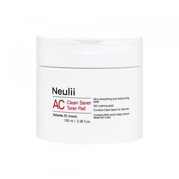 [Neulii] AC Clean Saver Toner Pad - 1pack (60pcs)