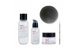 [Neulii x Eonnii] AC Clean Saver 3set 50% + Extractor + Natural Konjac Soft Cleansing Puff - 1pack (5items)