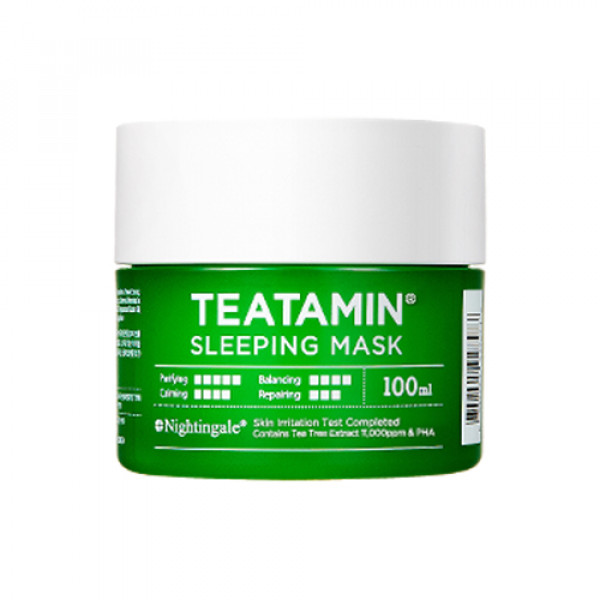 W-[NIGHTINGALE] Teatamin Sleeping Mask - 100ml x 10ea