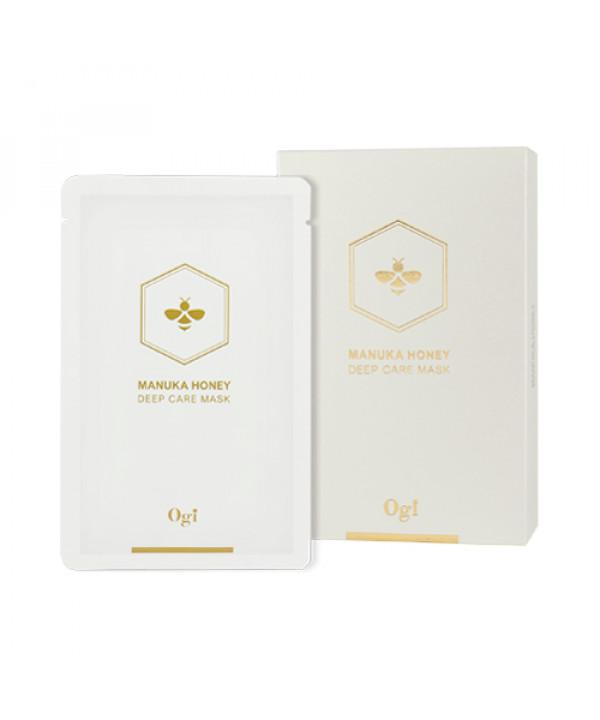 [OGI] Manuka Honey Deep Care Mask - 1pack (10pcs)