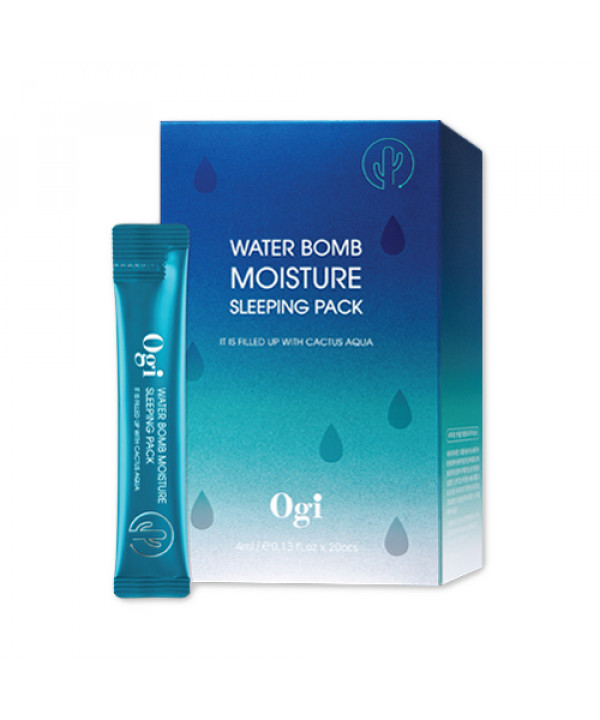 [OGI] Water Bomb Moisture Sleeping Pack - 1pack (20pcs)