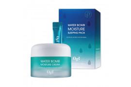[OGI] Water Bomb Moisture Cream + Sleeping Pack - 50ml+1pack(20pcs)