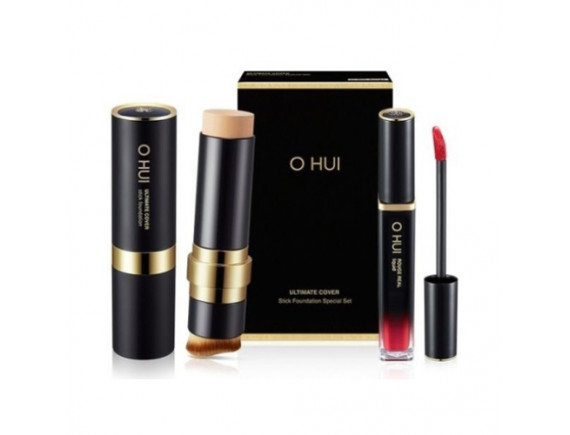 [OHUI] Ultimate Cover Stick Foundation Special Set - 1pack (2items)