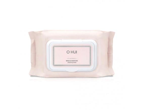 [OHUI] Miracle Moisture Cleansing Sheet Jumbo - 1pack (100pcs)