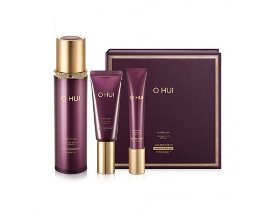 [OHUI] Age Recovery Wrinkle Troika Set - 1pack (3items)
