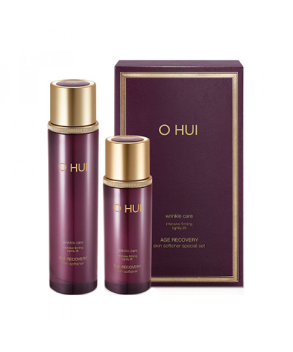[OHUI] Age Recovery Skin Softener 2 Step Set - 1pack (2items)