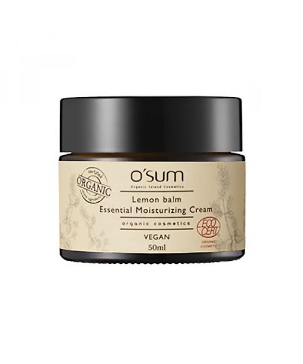 [O'SUM] Lemon Balm Essential Moisturizing Cream - 50ml
