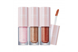 W-[PERIPERA] Sugar Twinkle Liquid Shadow - 3g x 10ea