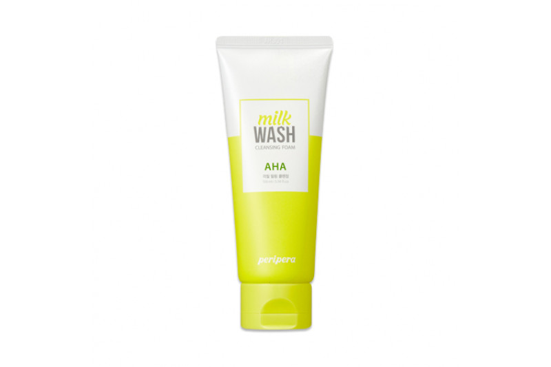 W-[PERIPERA] Milk Wash Cleansing Foam - 100ml x 10ea