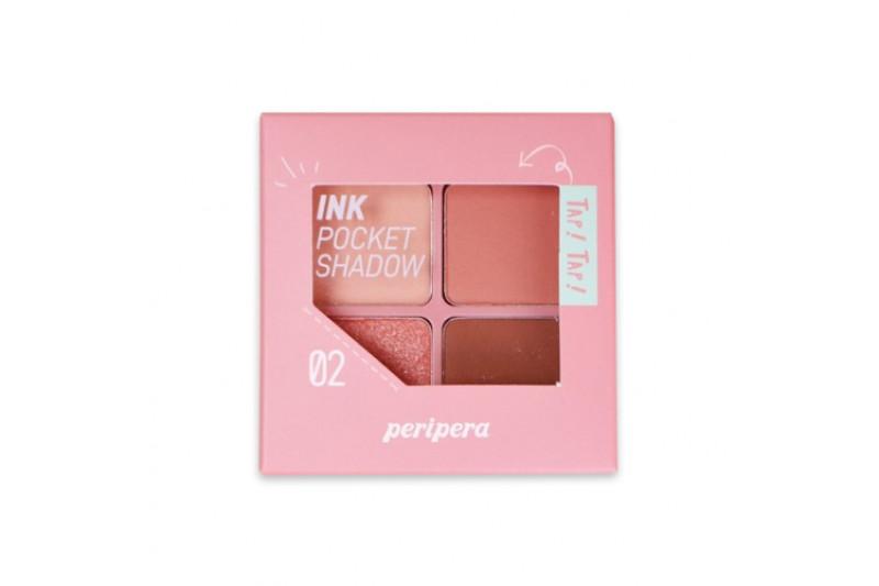 [PERIPERA] Ink Pocket Shadow Palette - 8g