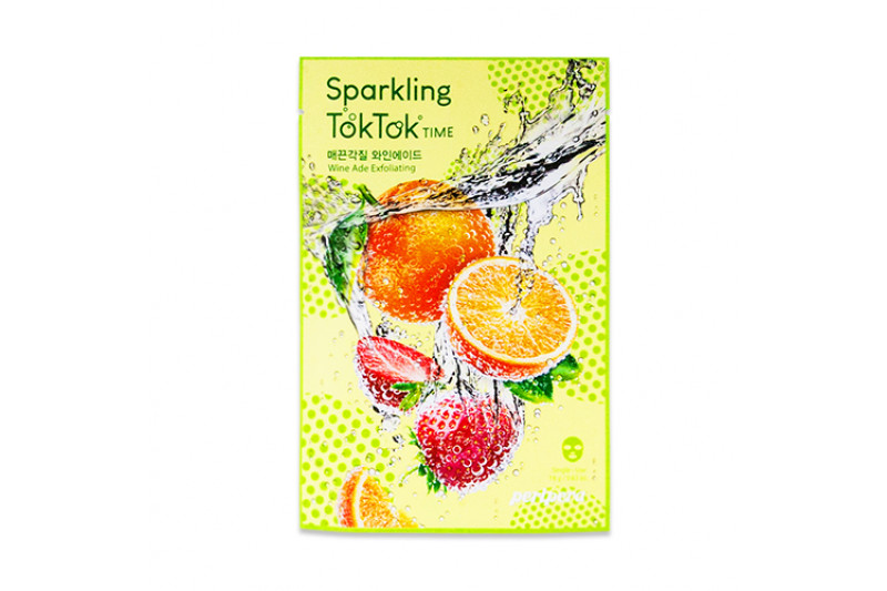 [PERIPERA] Sparkling TokTok Time Mask Sheet - 1pcs
