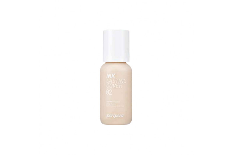 [PERIPERA] Ink Lasting Cover Foundation - 30ml (SPF30 PA+++) (New White)