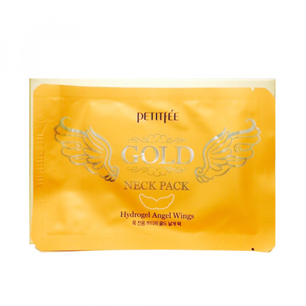 [PETITFEE] Gold Neck Pack - 1pack(5pcs)