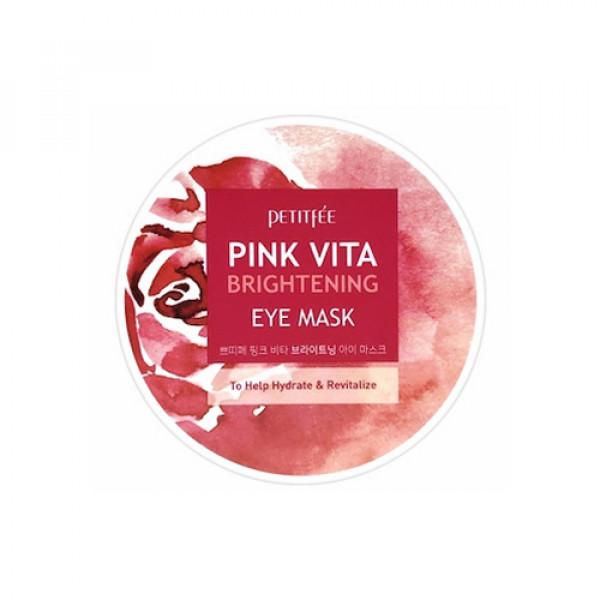 [PETITFEE] Pink Vita Brightening Eye Mask - 1pack (60pcs)