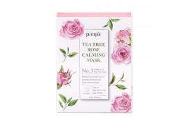 [PETITFEE] Tea Tree Rose Calming Mask - 1pack (10pcs)