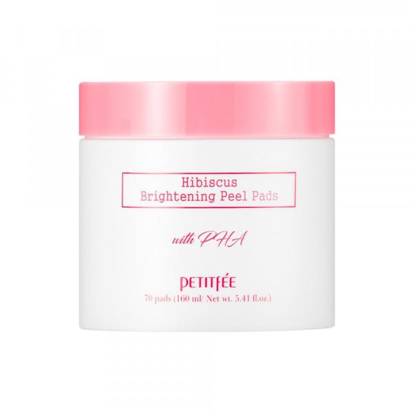 [PETITFEE] Hibiscus Brightening Peel Pads - 1pack (70pcs)