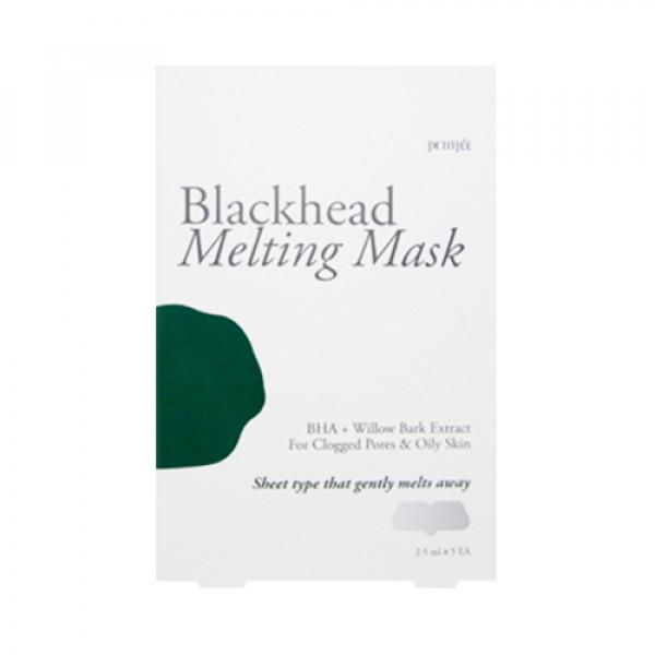 [PETITFEE] Blackhead Melting Mask - 1pack (5pcs)