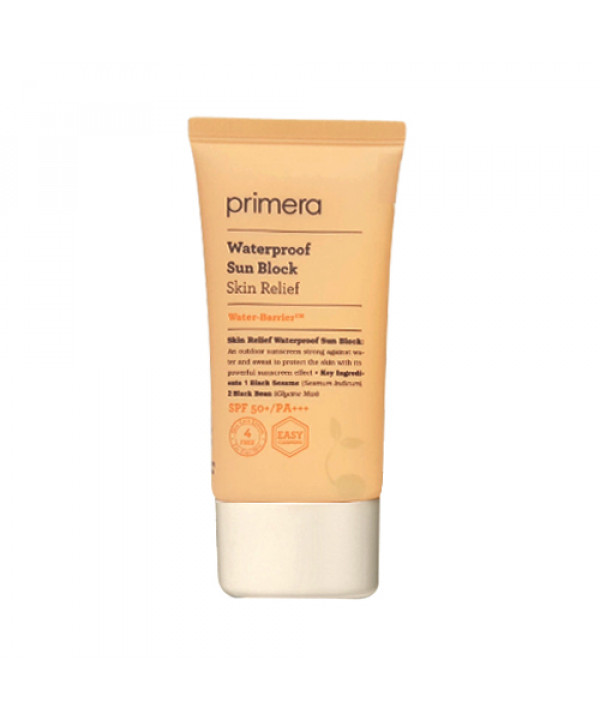 W-[Primera] Skin Relief Waterproof Sun Block - 70ml (SPF50+ PA+++) x 10ea