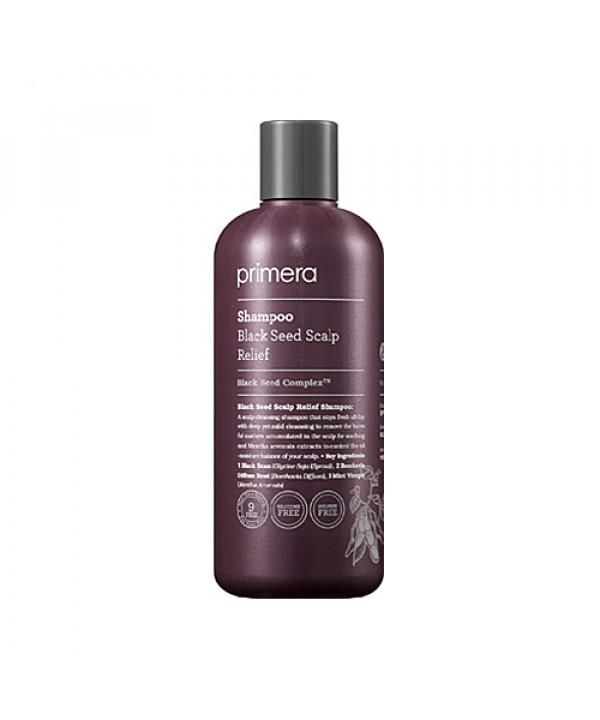 [Primera] Black Seed Scalp Relief Shampoo - 300ml