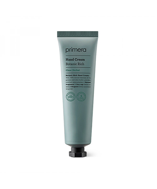 [Primera] Botanic Rich Hand Cream - 60ml