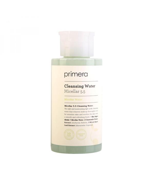 [Primera] Micellar 5.5 Cleansing Water - 300ml