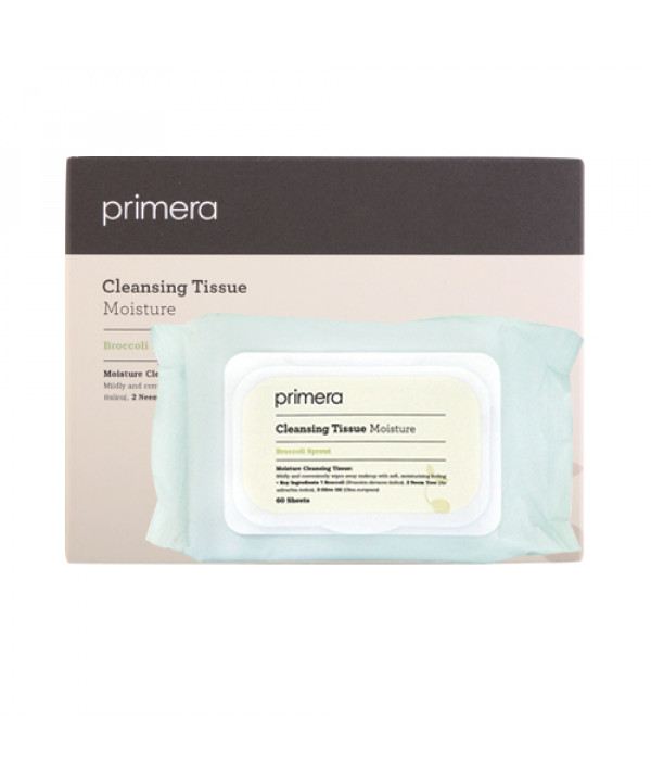 [Primera] Moisture Cleansing Tissue - 1pack (60pcs)