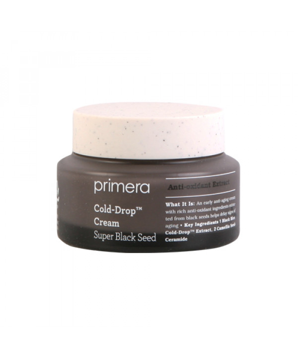W-[Primera] Super Black Seed Cold Drop Cream - 50ml x 10ea