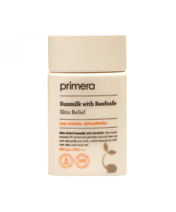 W-[Primera] Sun Milk With Reefsafe Skin Relief - 50ml (SPF 50+ PA++++) x 10ea
