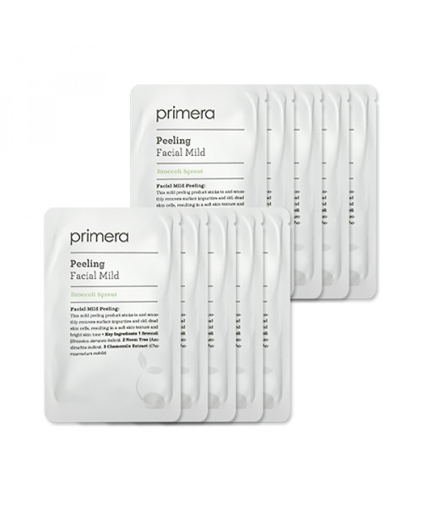 [Primera_Sample] Peeling Facial Mild Samples (2020) - 10pcs