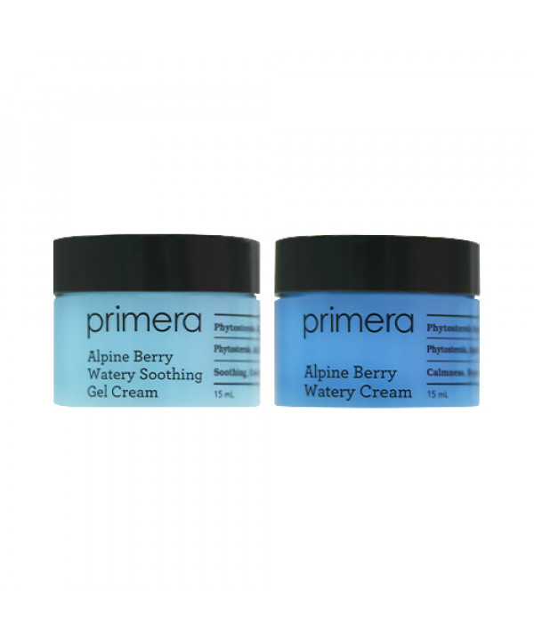 [Primera_Sample] Alpine Berry Watery Cream Special Duo Gift Set Sample - 1pack (2items)