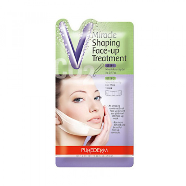 [PUREDERM] Miracle Shaping Face Up Treatment - 1pcs