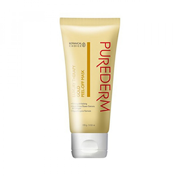 [PUREDERM] Peel Off Mask - 100g No.Luxury Therapy Gold