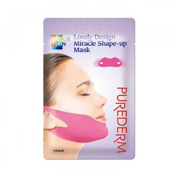 [PUREDERM] Lovely Design Miracle Shape Up Mask - 1pcs