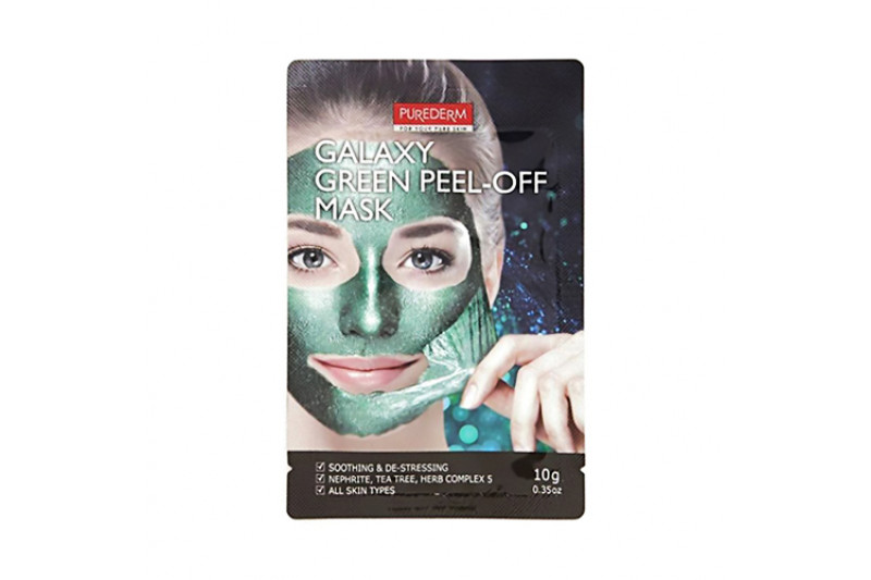 [PUREDERM] Galaxy Peel Off Mask - 1pcs