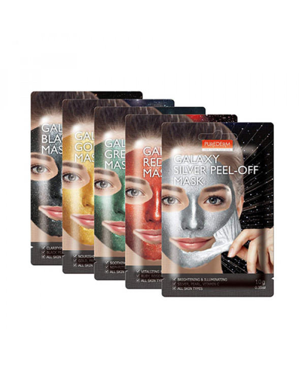 [PUREDERM] Galaxy Peel Off Mask - 1pcs