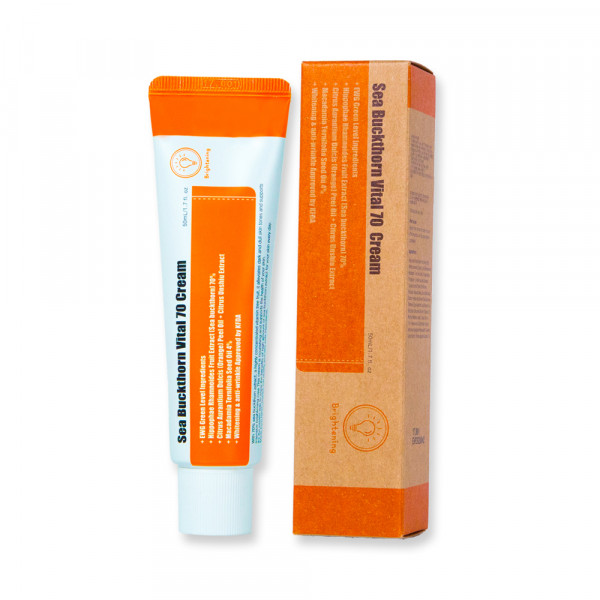 [PURITO] Sea Buckthorn Vital 70 Cream - 50ml