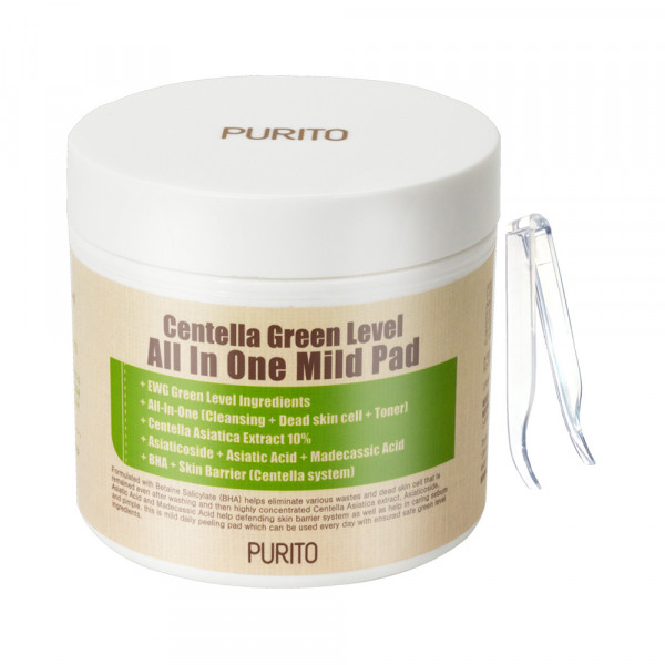 [PURITO] Centella Green Level All In One Mild Pad - 1pack (70pcs)