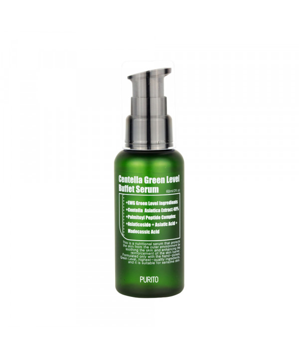 [PURITO] Centella Green Level Buffet Serum - 60ml
