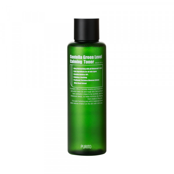 [PURITO] Centella Green Level Calming Toner - 200ml