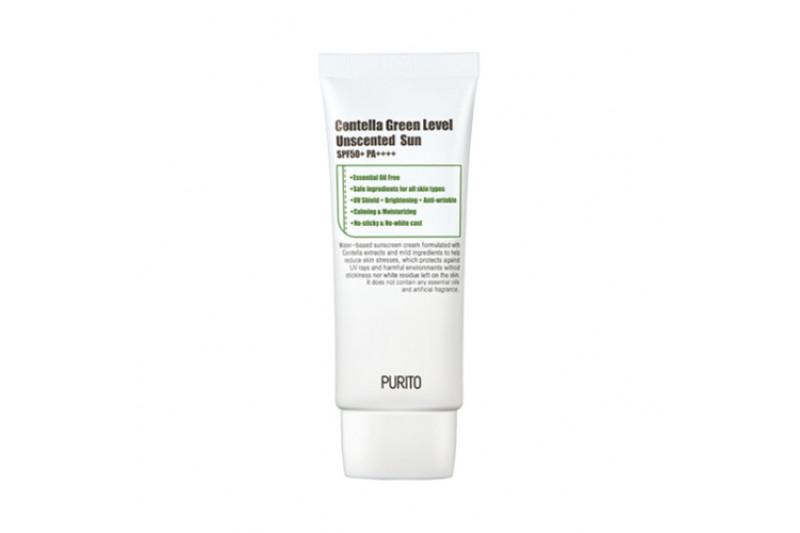 [PURITO] Centella Green Level Unscented Sun - 60ml (SPF50+ PA+++)