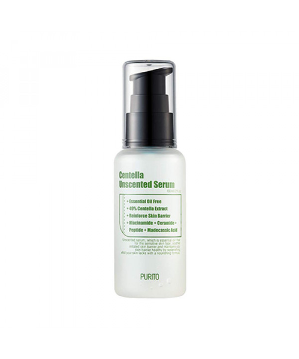 [PURITO] Centella Unscented Serum - 60ml