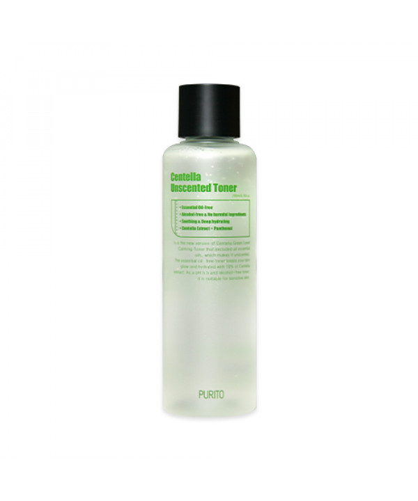[PURITO] Centella Unscented Toner - 200ml